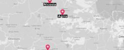 Mappa sicilia con città in evidenza
